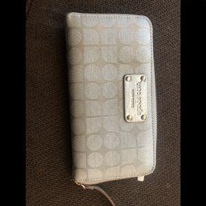 Silver Kate Spade wallet